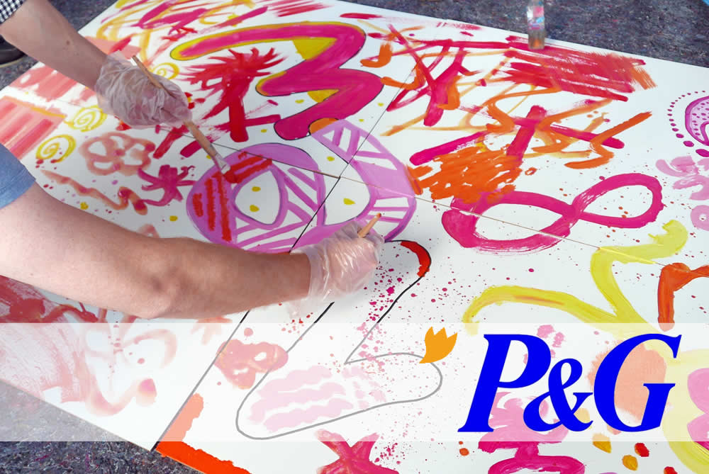 ACTION! Painting mit Procter & Gamble in Frankfurt