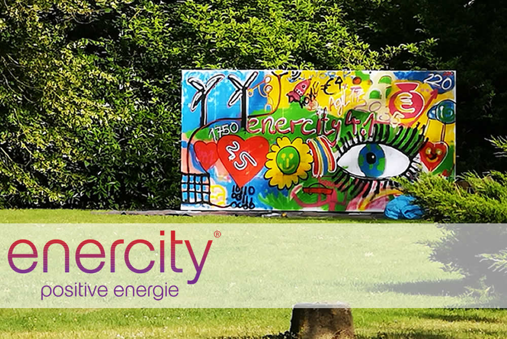 Graffiti mit enercity AG in Aerzen bei Hannover