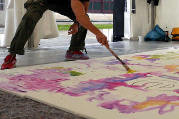 FIRMEN MALEN - ACTION! Painting in St. Gallen